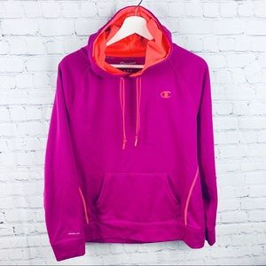 Champion Bright Purple Powertrain Fleece Hoodie